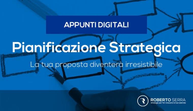 Pianificazione strategica di marketing